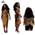 Boho Dashiki Dress Винтаж Баски Bodycon Сарафан Дамы Сексуальная Традиционный Африканский Печати Платья Одежда Халат