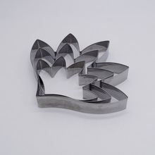 14/11/9cm Large Stainless Steel  Cordate Telosma Petal Cutter Soft Paper Polymer Clay Flower Cutting mold Tools