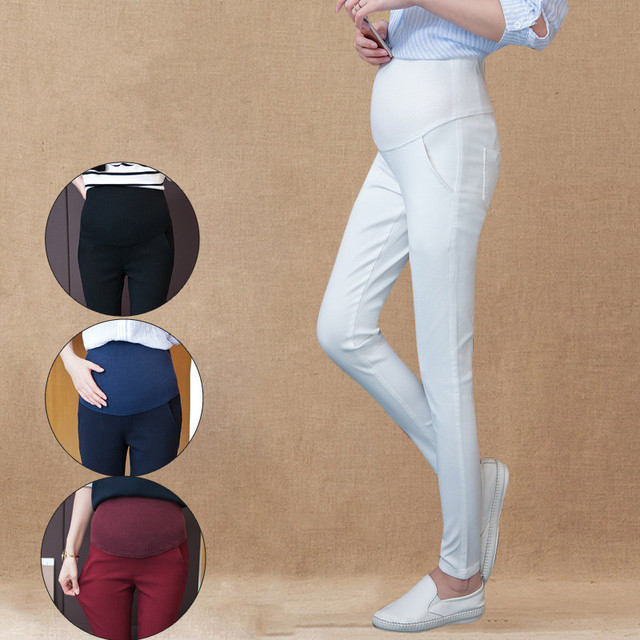 Casual Maternity Pants&Capris Pregnancy Pants Maternity Trousers for Pregnant Women Pregnancy Pants Gestante Pantalones B153
