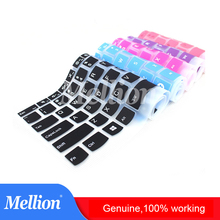 Silicone Keyboard Cover Protector Skin for Apple MacBook Retina Pro Air MAC 11 12 13 15 Soft Stickers 26 Colors