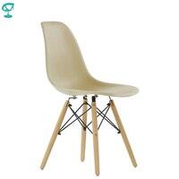95210 Barneo N 12 Plastic Wood Kitchen Breakfast Interior Stool Bar Chair Kitchen Furniture beige free shipping in Russia