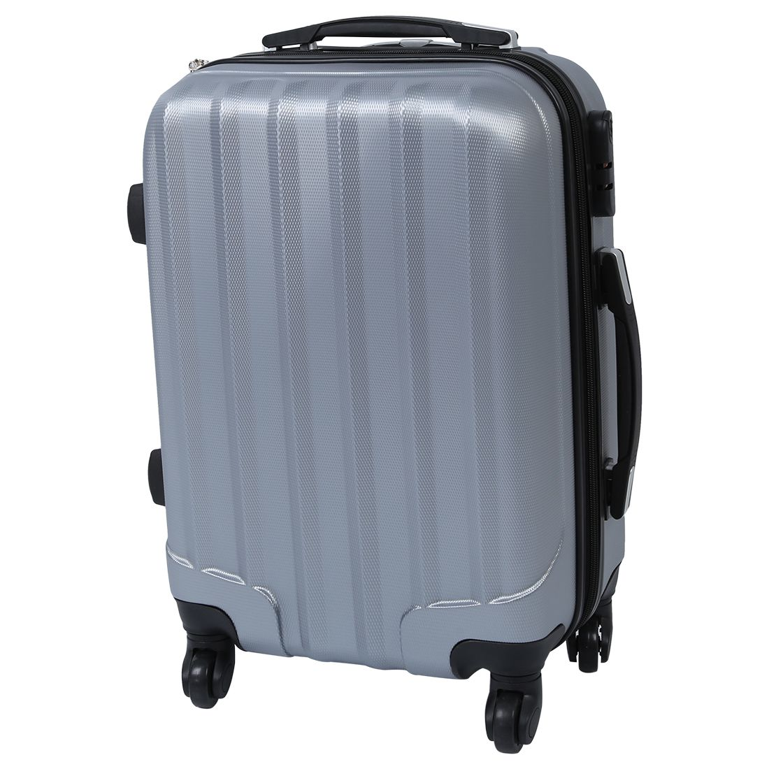 Fashion 4 wheels trolley suitcase gray 20-inch ...