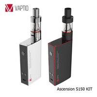 Vaptio ucuz vapes 150 w vw mod elektrikli sigara S150 VW/VT-Ni/Ti/SS/ATC sıcaklık kontrolü vape sigara