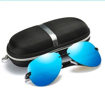 FRALU Men Vintage Aluminum HD Polarized Sunglasses Classic Brand Sun glasses Coating Lens Driving Shades For Men/Wome