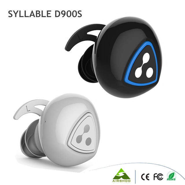 Syllable D900S Të dyfishtë Kufje Smart Smart Binaural Bluetooth 4.1 - Audio dhe video portative - Foto 1