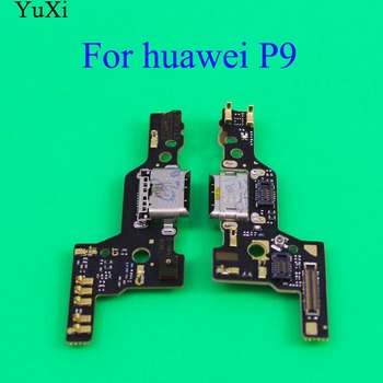 parts For Huawei P9 EVA-L09 EVA-L19 USB Dock Connector Charging Port Charger Flex Cable Microphone Module Board Repair Parts for huawei p20 lite usb plug charger board microphone module cable connector for huawei nova 3e digitizer phone parts repair kit