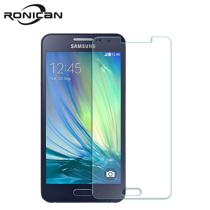 For Samsung A3 2015 Tempered Glass 2.5D 9H 0.26MM Premium Screen Protector Protective Film For Samsung Galaxy A3000 A300 A3 2015