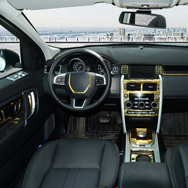Gold Interior Accessories For Land Rover Discovery Sport