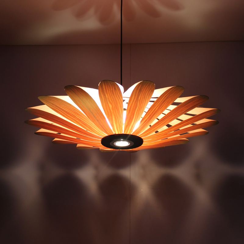 Bamboo Southeast Asian Chinese restaurant LED lamp wood engineering ceiling wooden lamp light Hotel Pendant Lights za zb32 new arrival modern chinese style bamboo wool lamps rustic bamboo pendant light 3015 free shipping