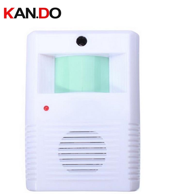 903 Entry Door Sensor Alarm Welcome Light Sensor Alarm Store Use Motion Detection Alarm Body Detection Voice Reception Alarm