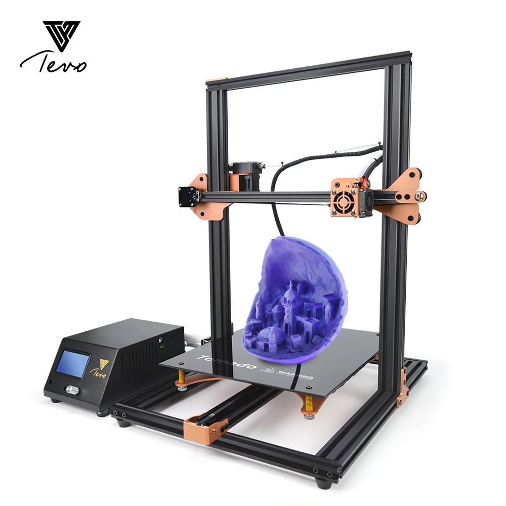 TEVO Tornado Assembled Aluminium Extrusion 3D Printer titan impresora 3d printer Extruder MKS Base MKS GEN