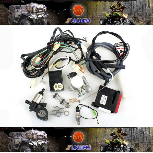 Venda quente m9 motorcycle engine management system (ems) kit para honda cg cb series frete grátis por epacket