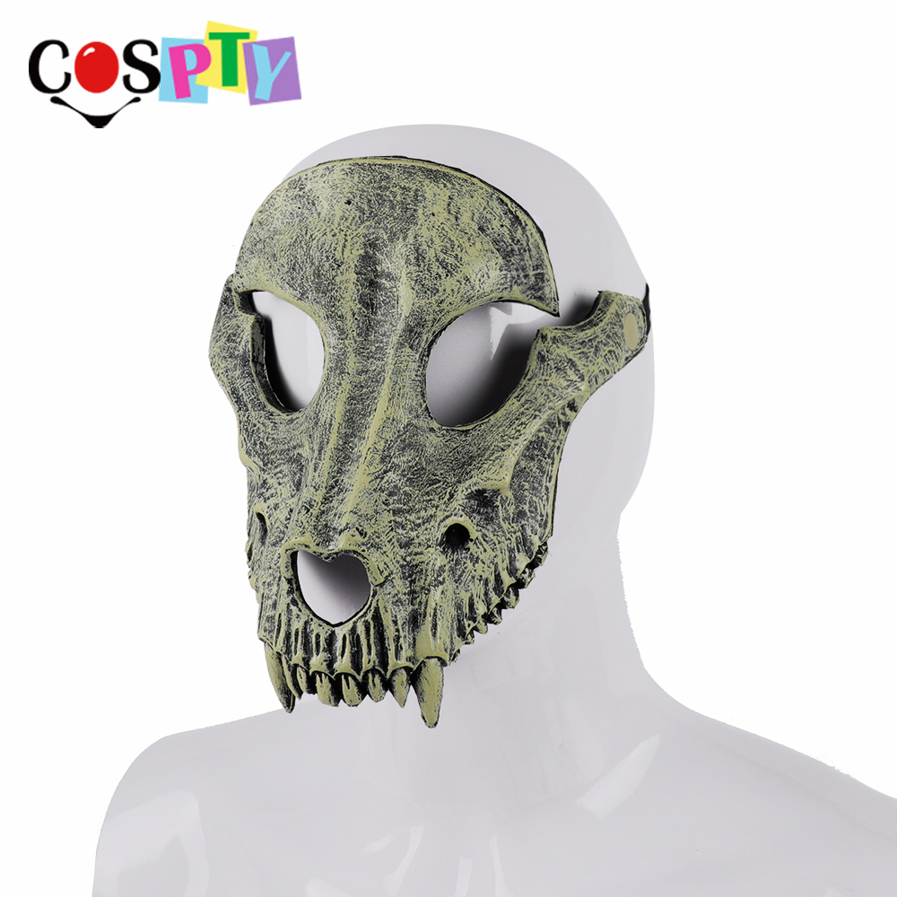 Image 2 - Cospty Mascaras Disfraces Festival Day of The Dead Halloween Party Masquerade Creepy Horror Terror Scary Costume Skull MaskBoys Costume Accessories   -