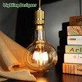 R160 vintage lamp LED bulb light 6W 220V E27 base pendant lamp drop light commercial lighting lamp