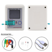 LCR TC1 3 5inch Colorful Display Multi Functional TFT Backlight Transistor Tester For Diode Triode Capacitor