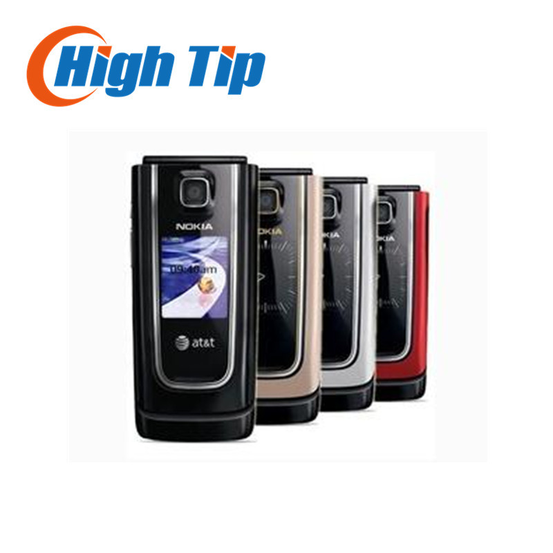 Cheap Original nokia brand 6555 classic flip cell phone 6555 with Singapore post free shipping Refurbished