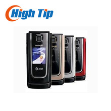 Cheap Original nokia brand 6555 classic flip cell phone 6555 with Singapore post free shipping Refurbished 1 year warranty