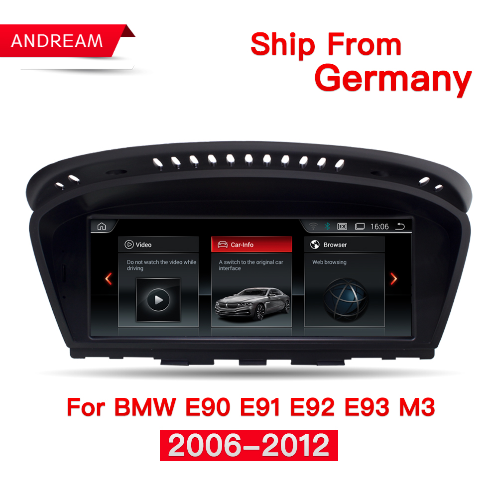 8.8 Android 4.4 Car Multimedia for BMW Series 3 E90 E91 E92 E93 M3 2006-2012 Bluetooth gps navigation Wifi EVO ID6 EW963A