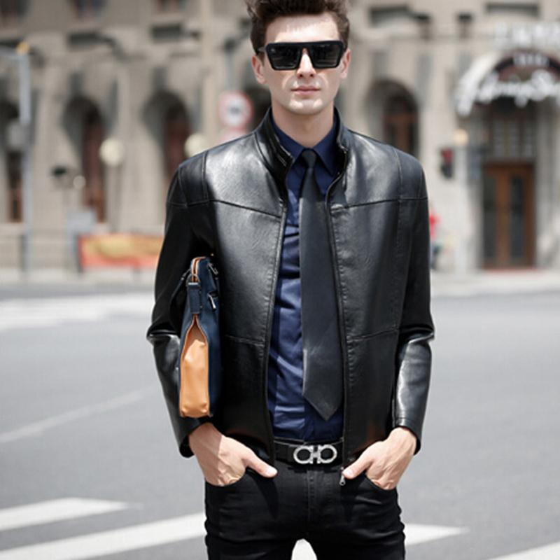 2015 Fashion Handsome Cool Men S Leather Trend Mens Faux Leather