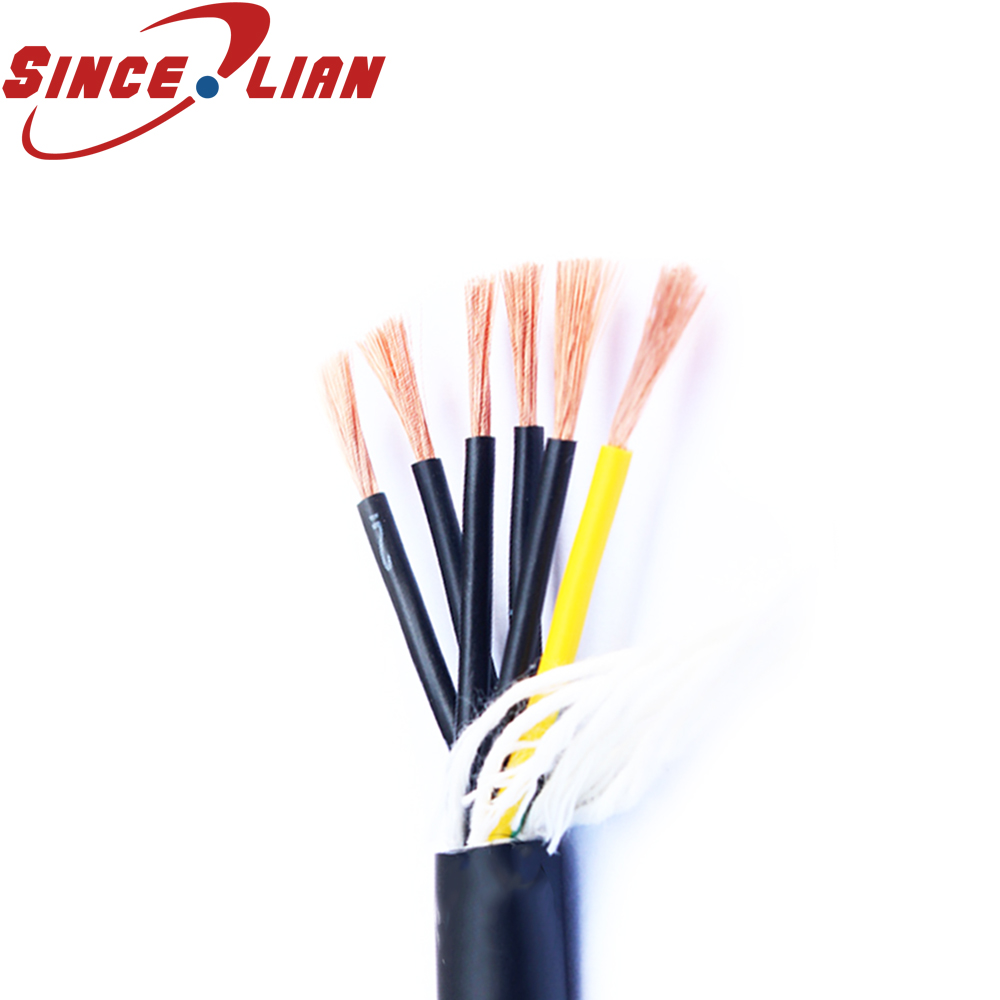 hight resolution of drag chain towline special cable pure copper wire 5meters super soft cable trvv10 core 0 5 0 75 square corrosion resistance