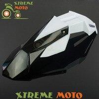 Black+White Front Fender Mudguard For KTM CRF CR XR YZ YZF WR KX KLX RM RMZ RMX DR DRZ TC TE FE FC Motocross Enduro Dirt Bike