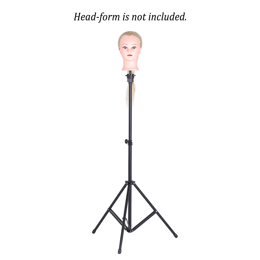 Hair Extensions & Wigs Wig Stands Responsible Professional Headform Stent Prosthesis Doll Head Holder Hair Model Head Tripod Bracket Barber Accessories Hair Styling Tool