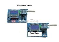 産業デバイスレベル433メートル無線モジュールデジタル伝送モジュールsi4463 stm8l開発キッ