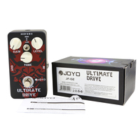JOYO JF 02 Ultimate Drive Electric Guitar Pedal Effect Box With True Bypass
