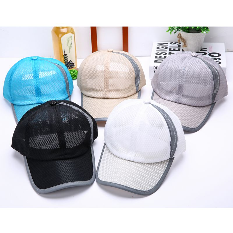 Visor Snap Hat Cool Travel Sun Unisex Retro Style Sports Hiking Casquette Gorras Hollow Breathable Cap