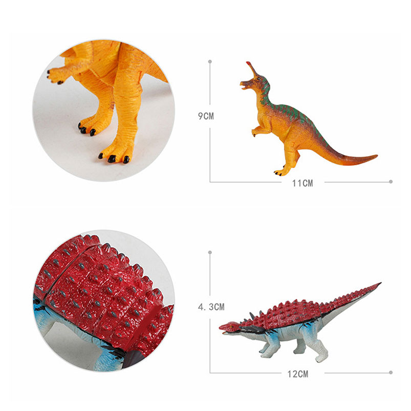 AWESOME DEAL Dino Puzzle in Jurassic Eggs Set of 4 Colors