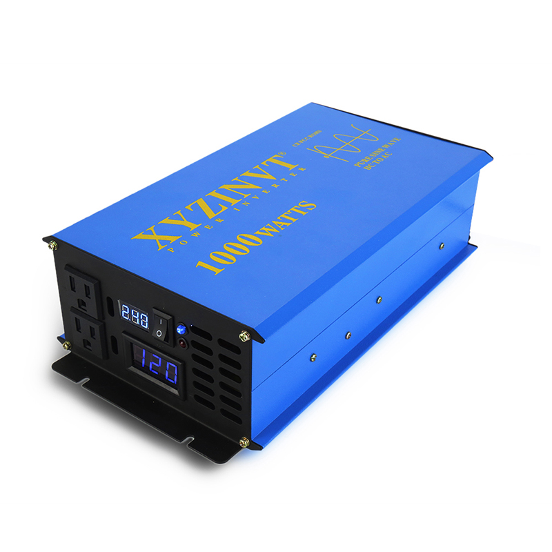 Pure Sine Wave Solar Power Inverter 1000W 24V 220V Car Battery Inverter Converter 12V/48V DC to 120V/230V/240V AC Remote Control free in st barth повседневные шорты