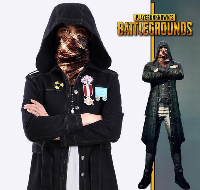 Playerunknowns Battlegrounds Pubg Cosplay Trench Costume Coat