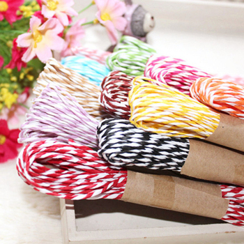 Suministros para fiestas, rafia de papel retorcido, artesanía, regalo, envoltura, cuerda, cinta, Scrapbooks, flor, DIY, Wh