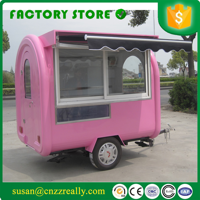 Food Sale: Mobile Food Trailer Food Cart Sliding Window With Sunshade