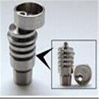 14 мм и 19 мм 4 в 1 Domeless жесткие Titanium ногтей, стекло водопровод аксессуар Инструменты с мужскими и женскими сустава. Действительно удобно