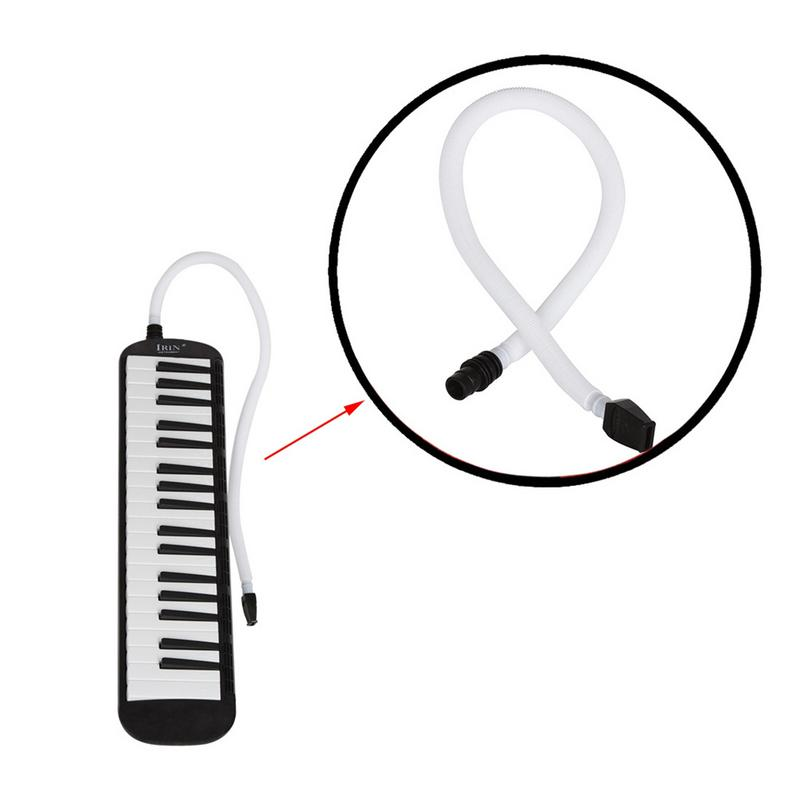 Professional Melodica Blowpipe Melodica Long Tube+short Tube Length Plastic Flexible Melodica Pianica Tube