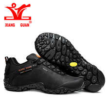 2016 XIANGGUAN Outdoor Hiking shoes EUR size 36-48 man&women Breathable Anti-skid Windproof black brown Trend Sports Sneakers