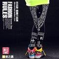 #1823 2016 Летние леггинсы Хип-хоп танец носить Леггинсы Панк уличная Harajuku Спортивной женские брюки Бегунов