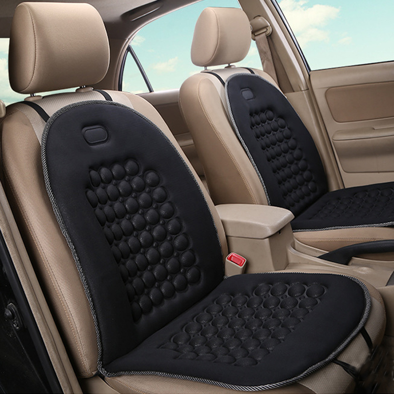 Auto seat Universal Front Back Winter Car Seat Cover Sponge Breathable Keep Warm Car Seat Cushion Anti-Skid Pad Protector Mat 1