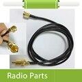 20X Conector SMA Macho A RCA Macho Cable de la Coleta RG174 1 m Longitud