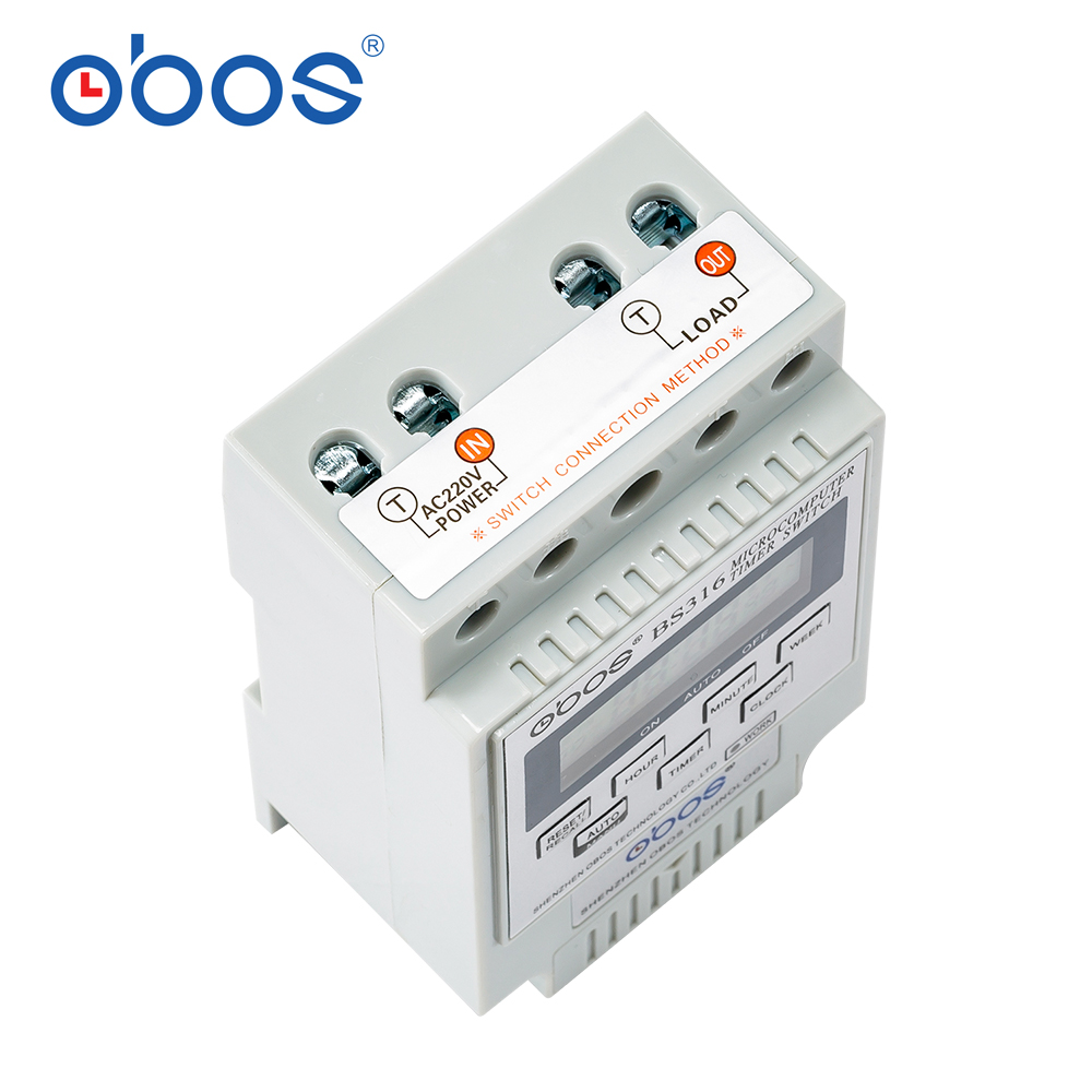 Timer BS316 (KG316T) Intelligent Microcomputer Programmable Electronic Timing Switch Relay Controller Various Voltage Selection