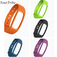 YourTribe ID107 smart Bracelet strap bands Heart Rate Monitor Fitness Bluetooth Smart Wristband id107 Bracelet Belt
