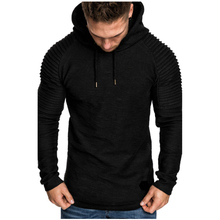 Prowow Brand Fashion Mens Hoodies Men Solid Color Hooded Slim Sweatshirt Hoodie Hip Hop Sportswear Tracksuit