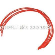 5 Шт. Красный Неопрена 0.2 Дюймов Dia 2:1 Термоусадочные Трубки Трубки 1 М