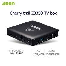 Quad cores Z8350 intel Smart TV Box 2gb/32gb 4gb/64gb USB2.0+USB3.0 Media Player  wifi Mini PC Windows