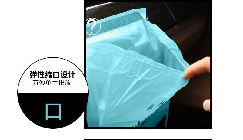 1/2/5 упаковок автомобильный мешок для мусора Портативный одноразовые пакеты для мусора прилипания Тип автоматическая Чистка сумка Универсальный Автомобильный Офис аксессуары