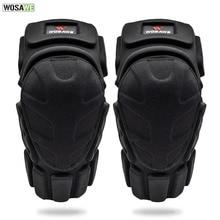 WOSAWE Motorcycle Knee Protector Shin Guard Motocross Knee Brace Support Kneepad Leg Warmer For Riding Skating Ski Cycling