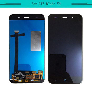 Tested 3pcs/lot  For ZTE Blade V6 T660 Full LCD With Touch Screen Glass Digitizer Sensor Assembly Free Shipping