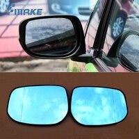 SmRKE 2Pcs Per Honda FIT Specchietto retrovisore Blu Occhiali Ampio Angolo di Led Indicatori di direzione luce di Potenza di Riscaldamento-in Specchietti e accessori da Automobili e motocicli su