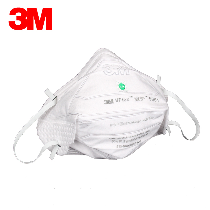 5/10pcs 3M N90 9061/9062 Dust Mask Respirator Folding Filter Mask Anti Haze Fog  PM2.5 Particulates Health Care Daily Protective